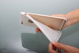 Flexible PLA used to 3D print a mobile phone cover