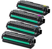 Compatible Samsung CLX 6260 Toner - Set of four colours