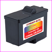 Remanufactured Lexmark 18L0042 Colour Ink cartridge