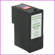 Remanufactured Lexmark 18C0034 Black Ink cartridge