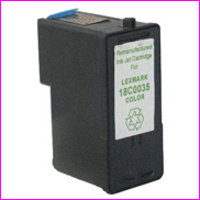 Remanufactured Lexmark 18C0035 Colour Ink cartridge