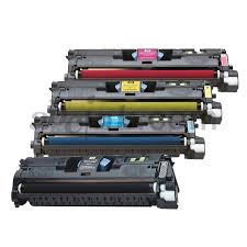 Remanufactured HP Laserjet Q3960A, Q3961A, Q3962A, Q3963A Toner Set
