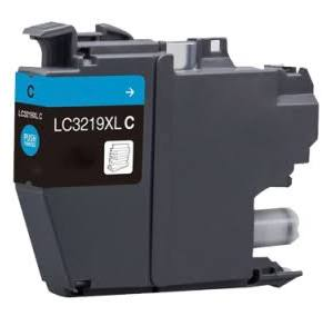 Compatible Brother LC3217C Cyan Ink Cartridge