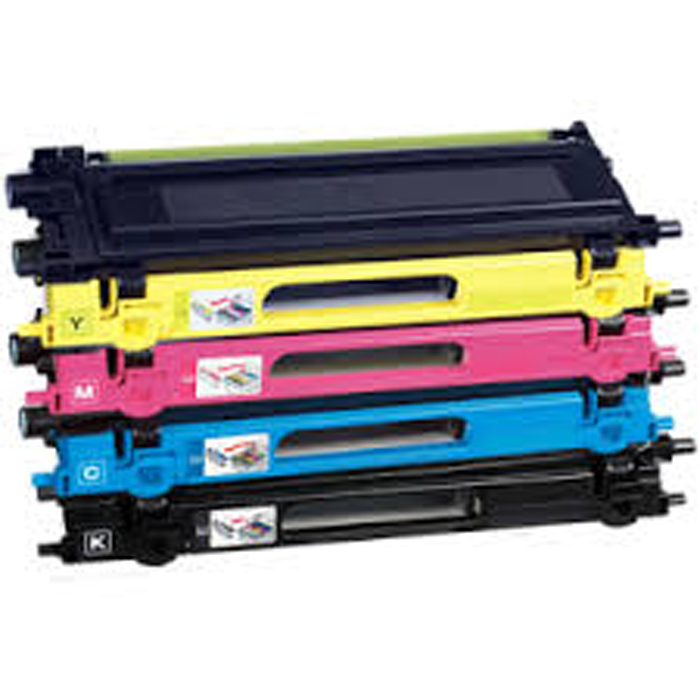 Compatible Brother TN242-6 Printer Toner Set of Four