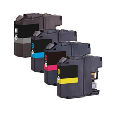 Compatible Brother LC127-LC125 High Capacity Ink cartridge Set