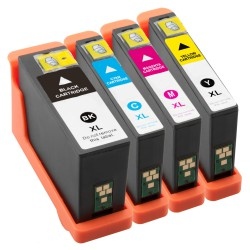 Compatible Dell 592-11812 13 14 15 All in One  Extra High Capacity Set of Colour Ink Cartridges