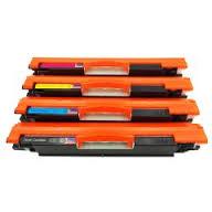 Remanufactured HP Color LaserJet Pro CE310-3A Toner Set