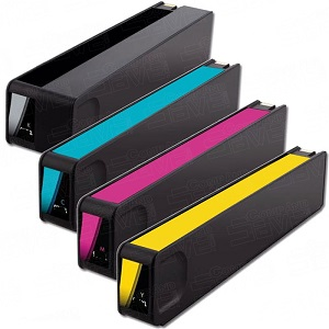 Compatible HP M0J98AE  Yellow Ink Cartridge