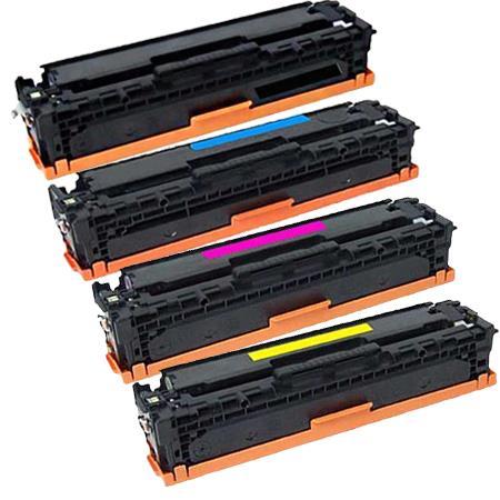 Compatible HP CF4130X 31X 32X 333X toner cartridge - set of 4