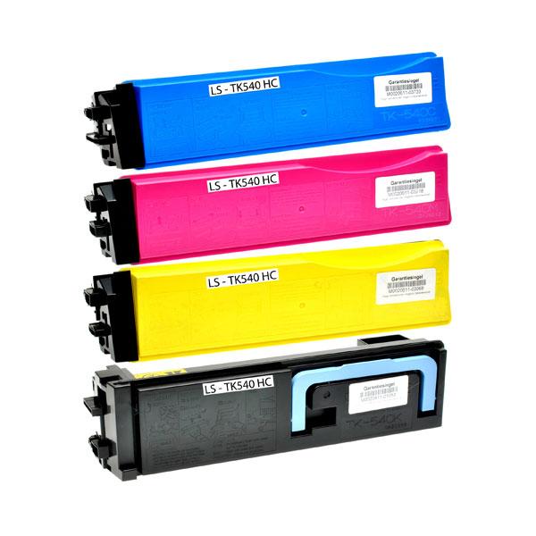 Compatible Kyocera TK540 Cyan Toner