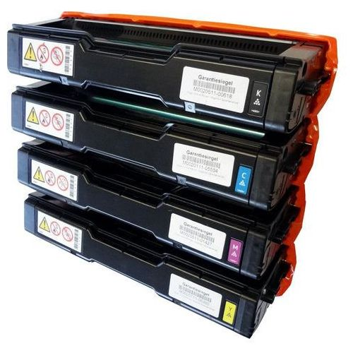 Compatible Ricoh High Yield Toner Cartridge SPC360HE Set of Colours