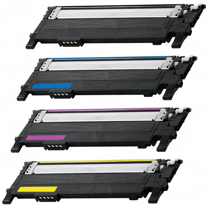 Compatible Samsung CLT-K406S C406S M406S Y406S Toner - Set of Colours